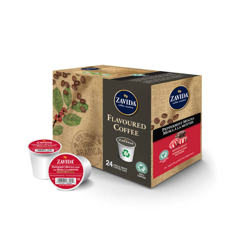 Zavida K Cups Peppermint Mocha 24CT