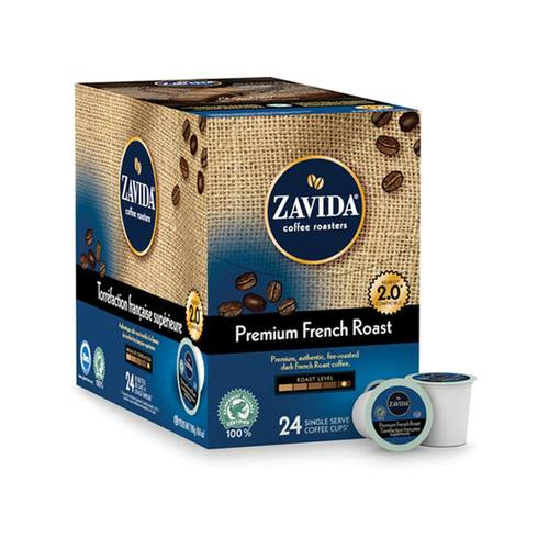 Load image into Gallery viewer, Zavida K Cups Premium French Roast 24 CT