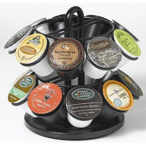 Nifty Home Products Black 18 K-Cup Mini Carousel