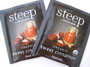 Bigelow Steep Tea Sweet Cinnamon 20 CT