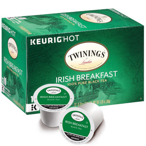 Load image into Gallery viewer, Twining Tea K Cup Irish Breakfast 24 CT