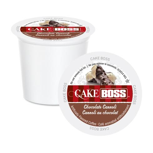 Cake Boss K CUPS Chocolate Cannoli 24 CT
