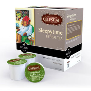 Load image into Gallery viewer, GMCR Celestial Tea K CUP Sleepytime Herb 24 CT