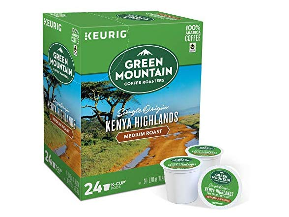 GMCR K CUP Kenya Highlands Med Roast 24 CT