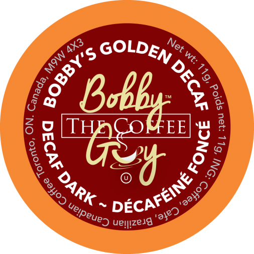 Bobby's Decaf Single Serve Coffee