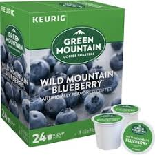 GMCR K Cup Flav Coffee FT Wild Mint Blueberry 24 CT