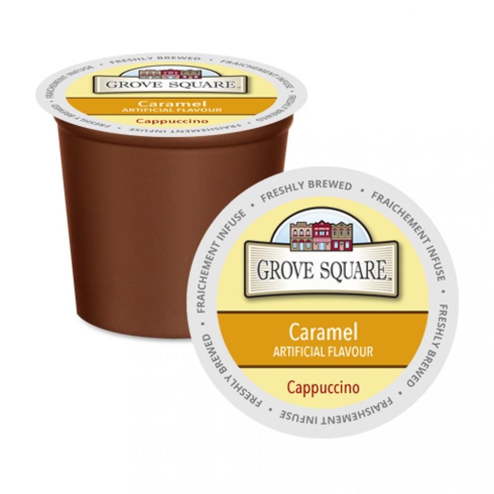 Load image into Gallery viewer, Grove Square Cappuccino Caramel 24 CT