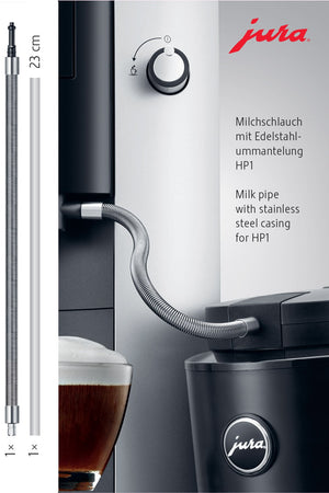 Load image into Gallery viewer, Milk pipe with stainless steel casing