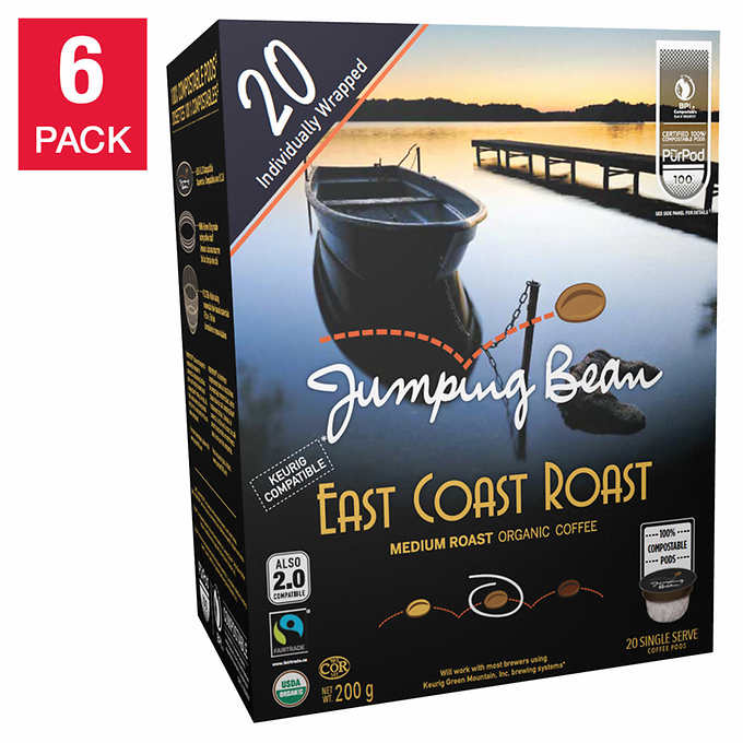 Jumping Bean Purpod 100% SS East Coast 20 CT