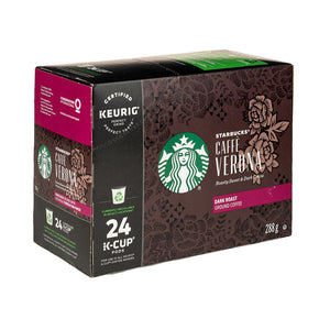 Load image into Gallery viewer, Starbucks Caff Verona K-Cup Pods 24 CT