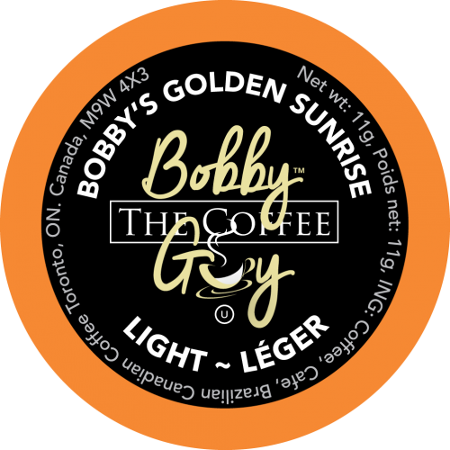 Load image into Gallery viewer, Bobby's Golden Sunrise Single Serve Coffee