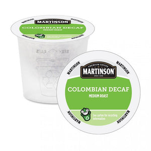Martinson Coffee RC Colombian DECAF 24 CT