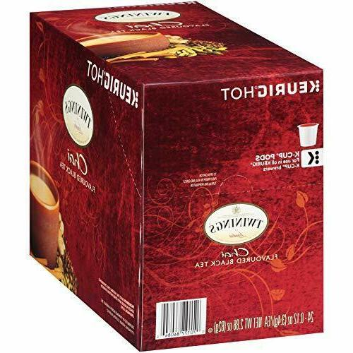 Load image into Gallery viewer, Twining Tea K Cup Chai 24 CT