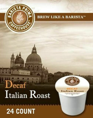 Load image into Gallery viewer, GMCR Barista Prima K CUP Italian Decaf 24 CT