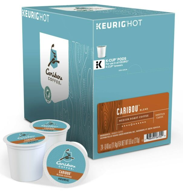 Load image into Gallery viewer, GMCR K CUP  Caribou Blend 24 CT