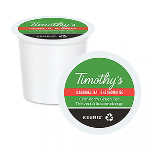 TIMOTHY'S K CUP Timothy's Cranberry Green Tea 24 CT