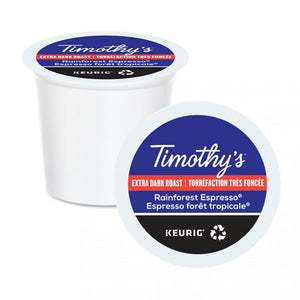 TIMOTHY'S K CUP Ext Bold Rainforest Espresso Bold 24 CT
