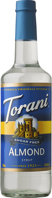 Torani Sugar Free Almond 750ml