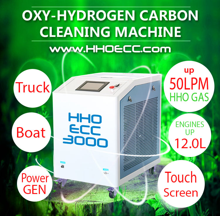 3000 LPH 50LPM - HHO ECC Machines - Engine carbon cleaning