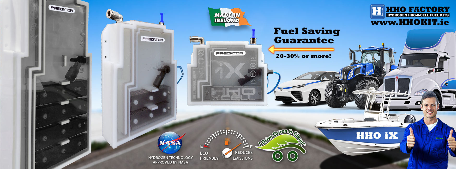 Kit HHO Plug-N-Play pour camions