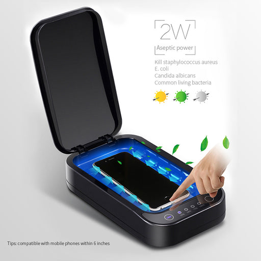 UV Sterilizer Box Ultraviolet Light UVC Led Lamp Portable - www.HHOfactory.com
