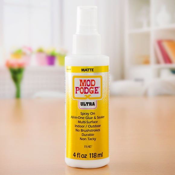 Mod Podge Ultra Matte Adhesive Spray - 4oz