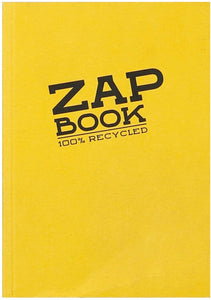 Clairefontaine Zap Book Glued Sketchbook 10.5x14.8 (100% Recycled)