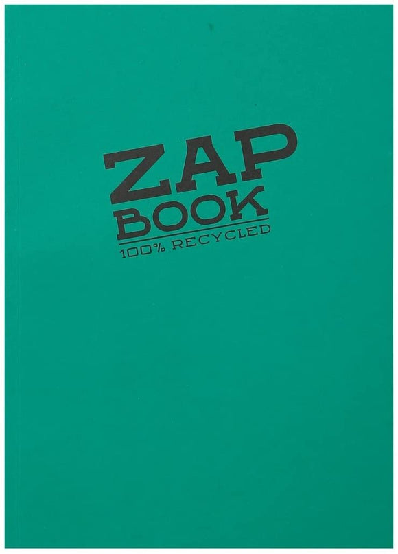 Clairefontaine A4 Zap Book Glued Sketchbook (100% Recycled)