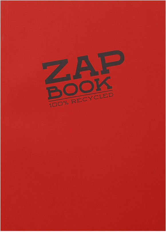 Clairefontaine A5 Zap Book Glued Sketchbook (100% Recycled)