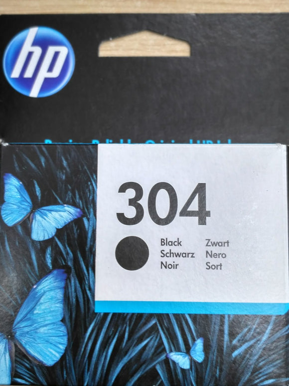 HP Ink Cartridge No: 304 Black