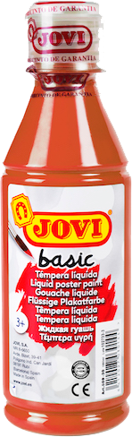 Jovi Basic Liquid Poster Paint Bottle 250ml - Brown