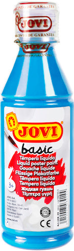 Jovi Basic Liquid Poster Paint Bottle 250ml -  Blue