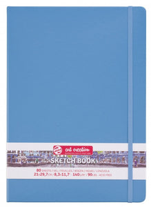 Talens Art Creation Sketch Book Lake Blue, 140g, 80 sheets