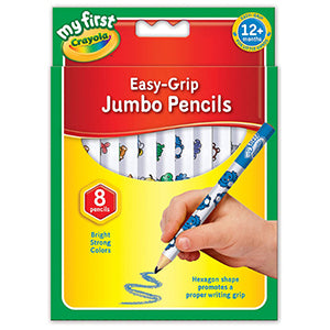 Crayola Easy Grip jumbo Pencils