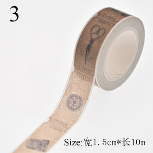 Creative Measure Vintage Style Kawaii Decorative Washi Tape Diy Scrapbooking Masking Tape School Office Supplies For Decor