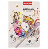 Bruynzeel Sketchbook 14,8 x 21 cm - plain, 140 g, 80 sheets