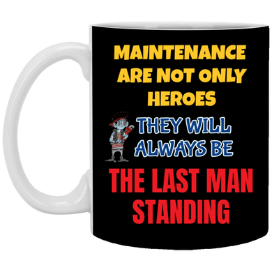 (Code RSA-152) Reliability and Maintenance 11 oz. White Mug - 15