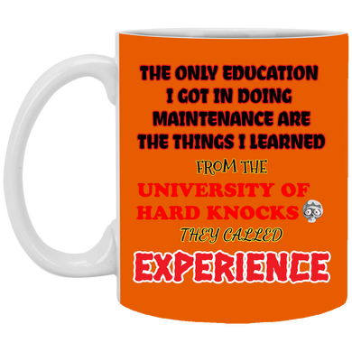 (Code RSA-150) Reliability and Maintenance 11 oz. White Mug - 13