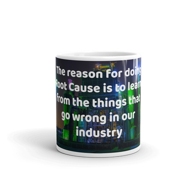 (Code RSA031) Reliability and Maintenance White Cool Coffee Mugs - 2