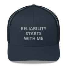 Load image into Gallery viewer, reliability cap, maintenance cap