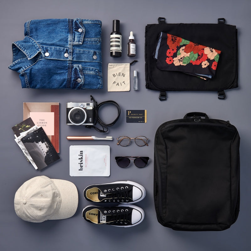 Daily 2.0 Backpack - Flatlay packing