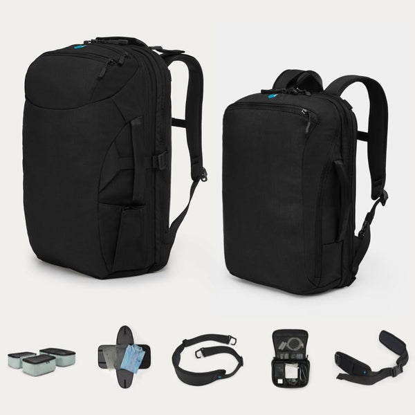 Minaal Whole Hog - Carry-on 2.0, Daily bag, and accessories