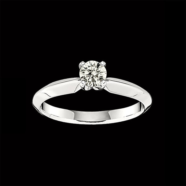 Solitaire Ring - Candlelight