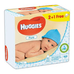 Huggies Baby Wipes Pure, 168ct