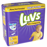 Luvs, Ultra Leakguard Diapers (Various Sizes)