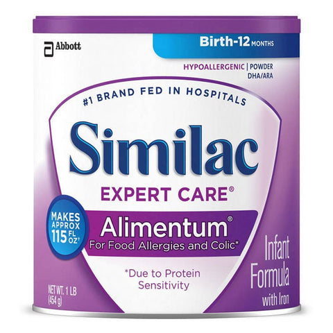Similac Alimentum Expert Care Infant Formula 1 lb.
