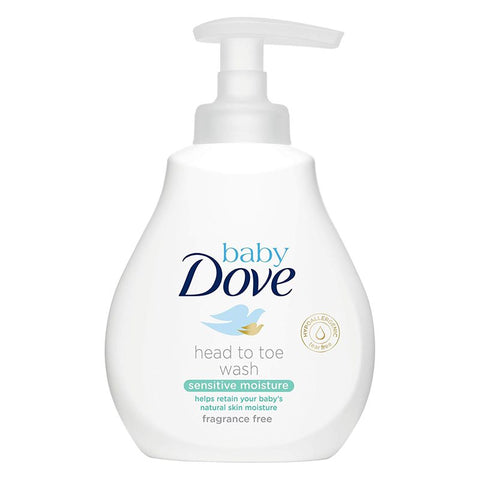 Dove Baby Wash, Sensitive Moisture