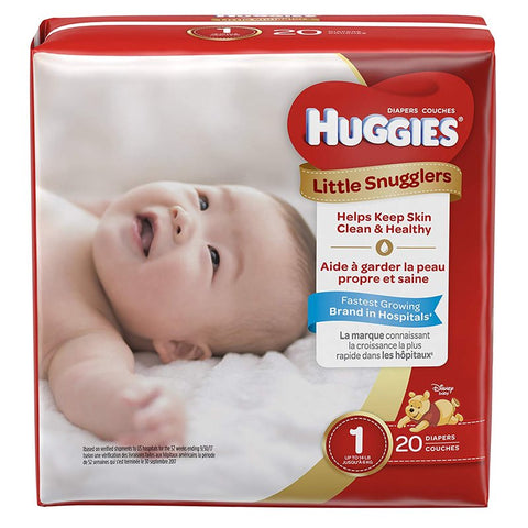 Huggies Diapers, Little Snugglers