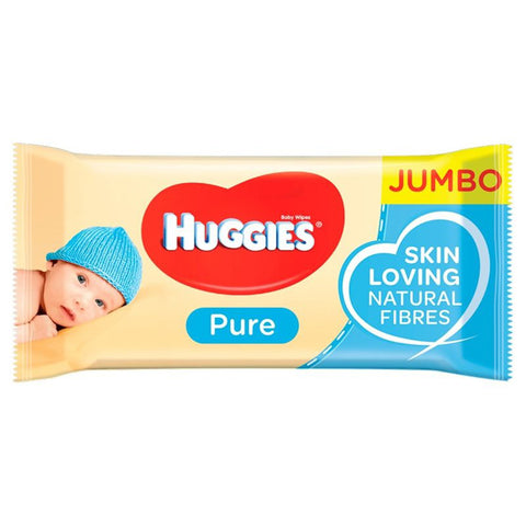 Huggies Baby Wipes Pure, 72 ct