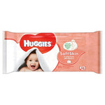 Huggies Baby Wipes, Soft Skin, 56ct